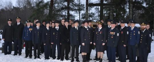 Pyhäsalmen VPK:n 80v juhla 19.12.2015 paloasemalla